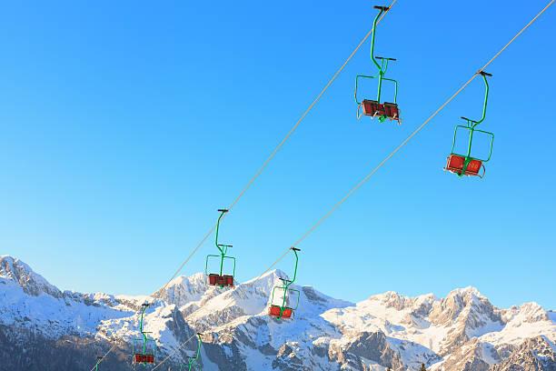 Ski Lift:スマホ壁紙(壁紙.com)
