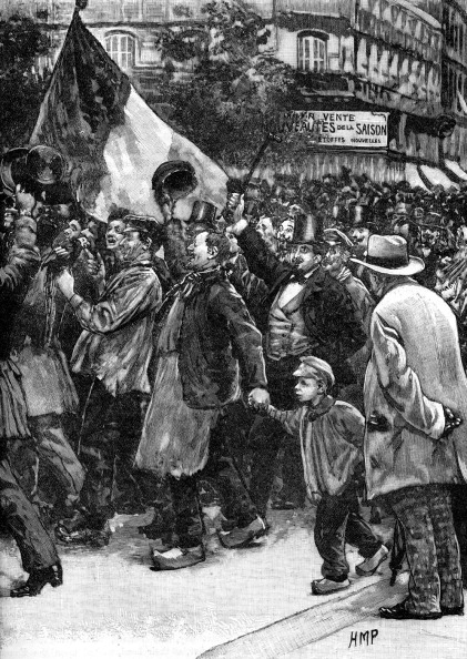 Patriotism「Franco-Prussian War: Parisian Crowds」:写真・画像(5)[壁紙.com]