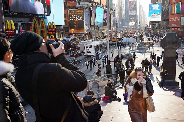 Tourism「New York City On Track To Continue Record Tourism Growth」:写真・画像(15)[壁紙.com]