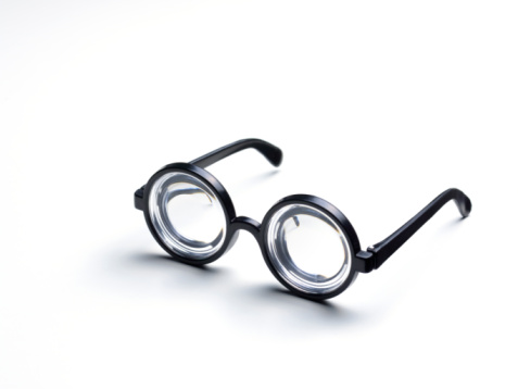 Horn Rimmed Glasses「Short sighted goggle glasses」:スマホ壁紙(3)