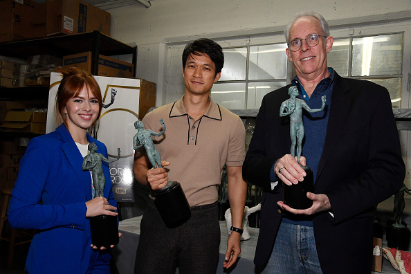 Pouring「The 25th Annual Screen Actors Guild Awards - Pouring Of Actor Statuette」:写真・画像(9)[壁紙.com]