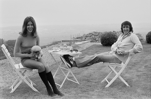 Jackie Stewart - Race Car Driver「Jackie Stewart And Wife」:写真・画像(1)[壁紙.com]