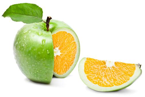 Genetic Modification「Apple Orange」:スマホ壁紙(10)