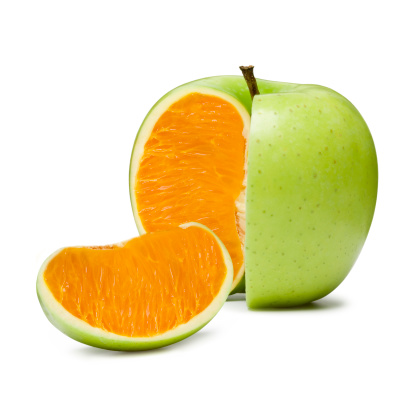 Orange - Fruit「Apple Orange」:スマホ壁紙(6)