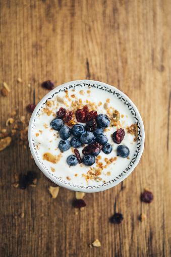 Granola「Healthy Breakfast, Yogurt And Granola」:スマホ壁紙(5)