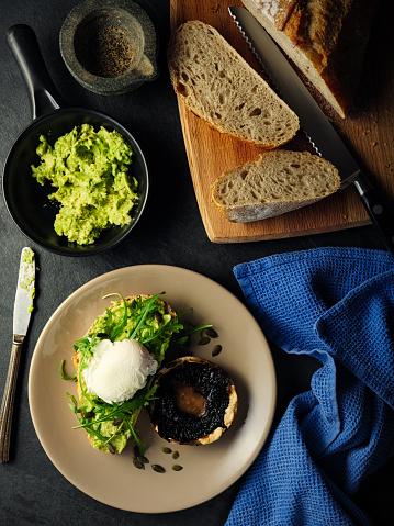 Poached Food「Healthy breakfast」:スマホ壁紙(3)