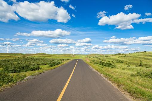 Motor Racing Track「Highway Beautiful in the nature scenery」:スマホ壁紙(1)