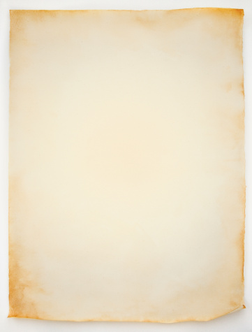 Old「Blank sheet of old curled parchment paper」:スマホ壁紙(7)