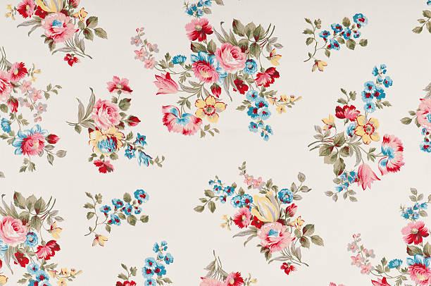 Farleigh Floral Medium Antique Fabric:スマホ壁紙(壁紙.com)