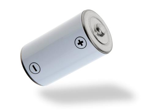 Power Supply「Flying white battery」:スマホ壁紙(3)