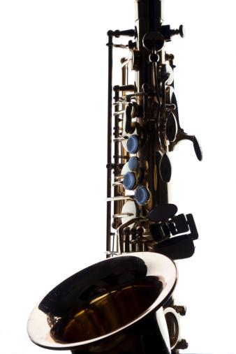 Back Lit「Contrasty image of backlit saxophone silhouette」:スマホ壁紙(4)