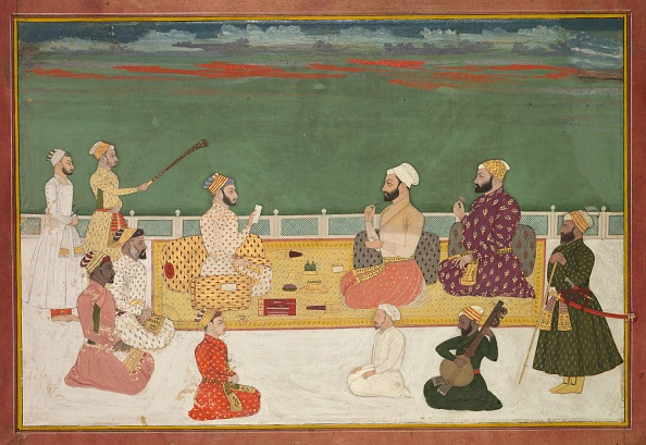Empire「Group Portrait Of Rajas Surrounded By The Courtly Retinue」:写真・画像(19)[壁紙.com]