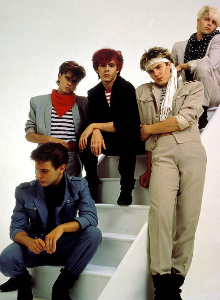 Singer「Duran Duran Group Portrait」:写真・画像(5)[壁紙.com]