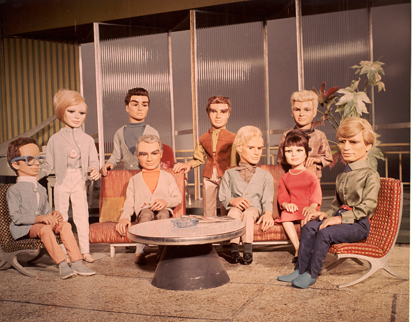 Puppet「Cast Of Marionettes From 'Thunderbirds'」:写真・画像(11)[壁紙.com]