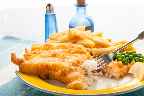 Deep Fried「fish and chips with peas」:スマホ壁紙(17)