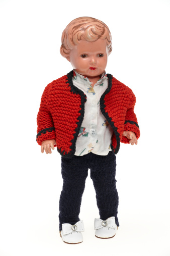 Doll「Vintage puppet from 1953」:スマホ壁紙(9)