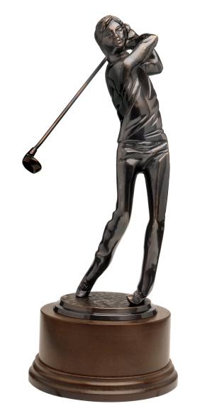 Taking a Shot - Sport「a golfing trophy」:スマホ壁紙(3)
