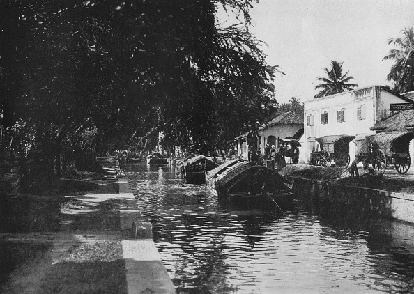 Negombo「'Negombo Canal, Showing Padda Boats', c1890,」:写真・画像(5)[壁紙.com]
