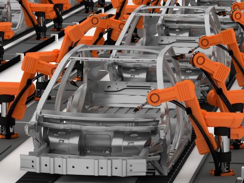 Robot Arm「Car Industry」:スマホ壁紙(19)
