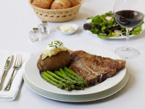 Baked Potato「Steak entree」:スマホ壁紙(3)