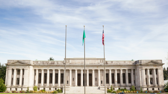 Olympia - Washington State「Temple of Justice - Washington Supreme Court Building」:スマホ壁紙(2)