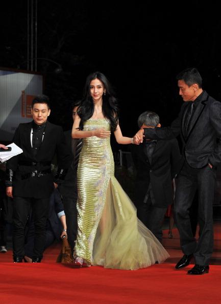 "Angelababy「""Tai Chi O"" Premiere - The 69th Venice Film Festival」:写真・画像(12)[壁紙.com]"