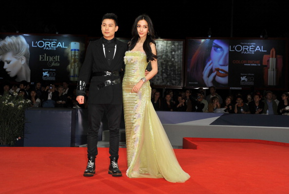 "Angelababy「""Tai Chi O"" Premiere - The 69th Venice Film Festival」:写真・画像(6)[壁紙.com]"