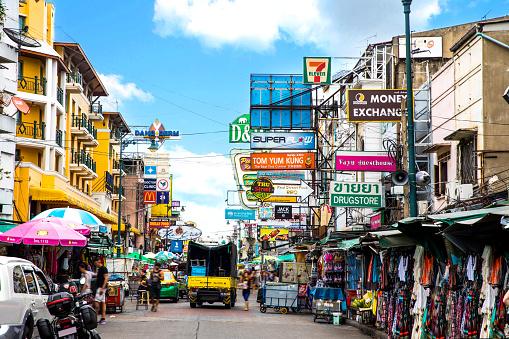 Thai Culture「Khao San Road in Bangkok - Thailand」:スマホ壁紙(8)