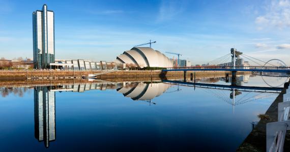 Glasgow - Scotland「The River Clyde, Glasgow」:スマホ壁紙(6)