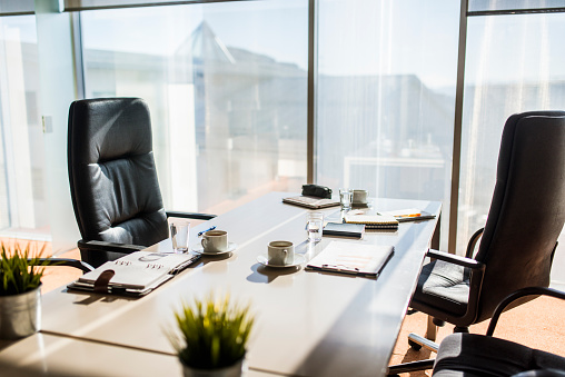 Atmosphere「An empty business office」:スマホ壁紙(13)