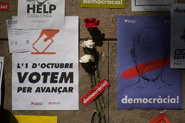 flower「Preparations Are Made Leading Up To The Catalan Independence Referendum」:写真・画像(2)[壁紙.com]