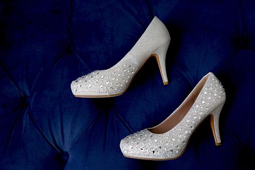 Girly「Bride's silver shoes」:スマホ壁紙(11)