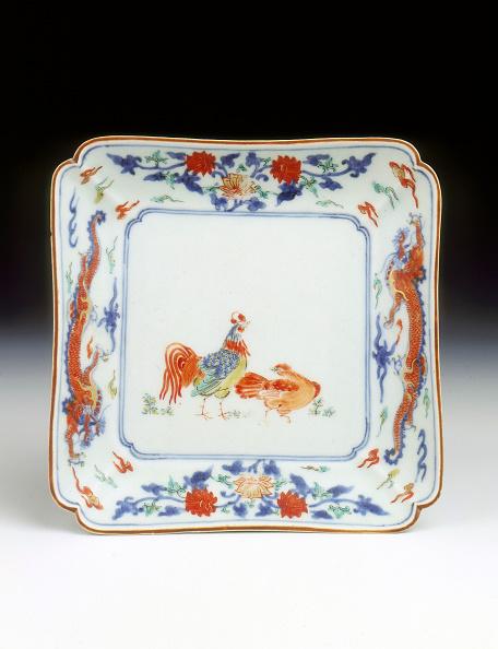 Hen「Arita/Kakiemon square dish, middle Edo period, Japan, c1700-1720.」:写真・画像(9)[壁紙.com]