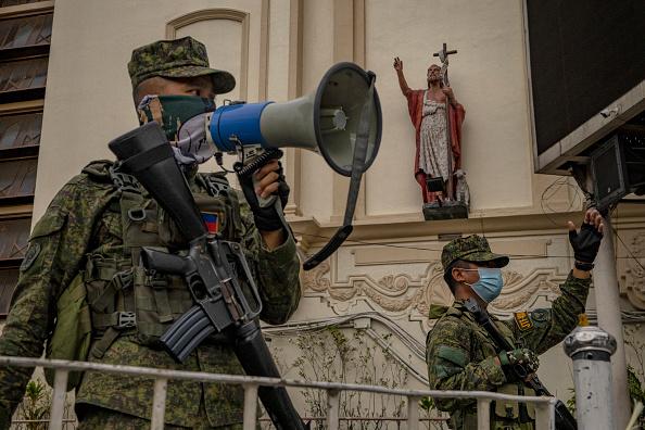 Philippines「Filipinos Mark Easter Amid The Coronavirus Outbreak」:写真・画像(13)[壁紙.com]