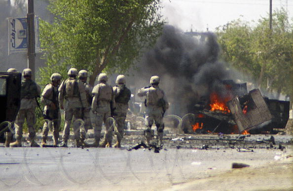 Baghdad「Car Bomb Attack In Baghdad Injures Three Civilians」:写真・画像(3)[壁紙.com]
