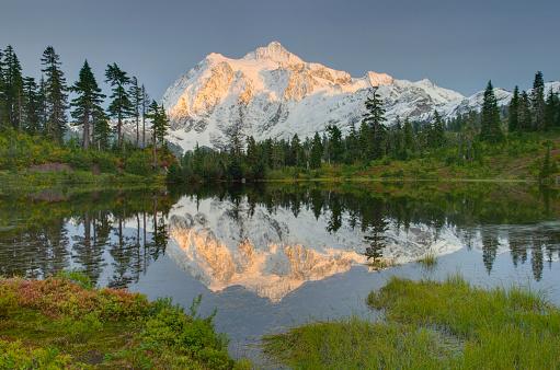 North Cascades National Park「Mount Shuksan, North Cascades」:スマホ壁紙(0)