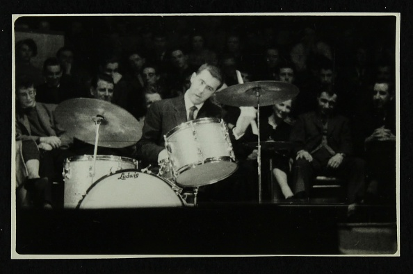 ドラマー「The Dave Brubeck Quartet in concert at Colston Hall, Bristol, 1958. .」:写真・画像(18)[壁紙.com]