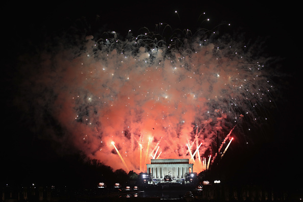 Lincoln Memorial「Inauguration Welcome Concert Held At The Lincoln Memorial」:写真・画像(8)[壁紙.com]