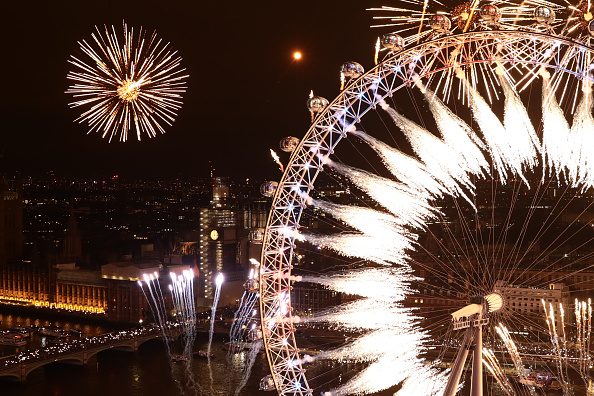 Amusement Park Ride「London Fireworks See In The New Year」:写真・画像(8)[壁紙.com]