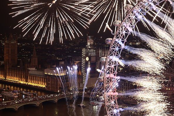 Amusement Park Ride「London Fireworks See In The New Year」:写真・画像(9)[壁紙.com]
