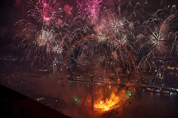 Amusement Park Ride「London Fireworks See In The New Year」:写真・画像(10)[壁紙.com]
