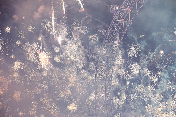 Amusement Park Ride「London Fireworks See In The New Year」:写真・画像(14)[壁紙.com]