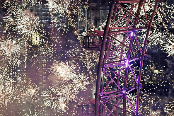 Amusement Park Ride「London Fireworks See In The New Year」:写真・画像(16)[壁紙.com]