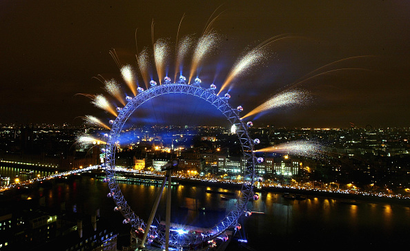 New Year「New Year's Eve Celebrations In London」:写真・画像(1)[壁紙.com]