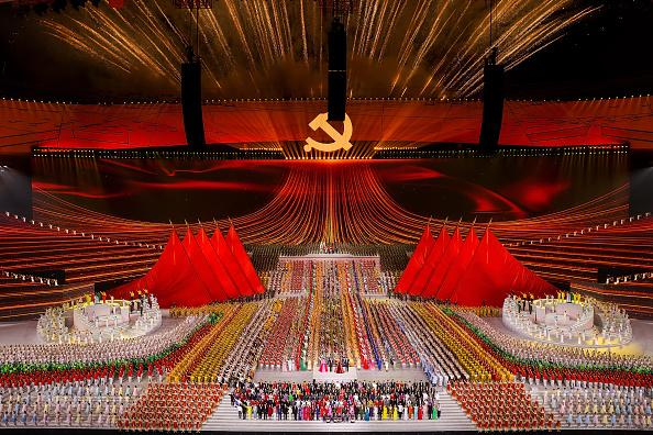 Stadium「China Celebrates 100th Anniversary Of The Communist Party At Mass Gala」:写真・画像(14)[壁紙.com]