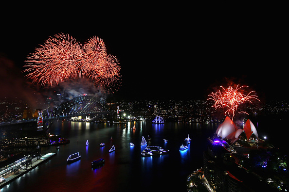 風景「Sydney Celebrates New Year's Eve 2015」:写真・画像(16)[壁紙.com]