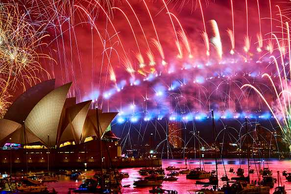 Sydney「Sydney Celebrates New Year's Eve 2018」:写真・画像(0)[壁紙.com]
