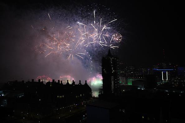 Westminster Abbey「New Year Celebrations In London」:写真・画像(12)[壁紙.com]