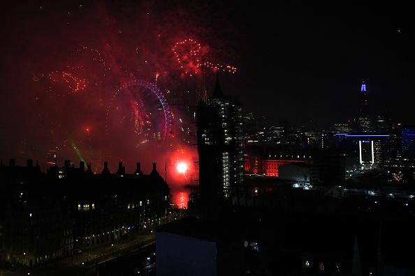 Westminster Abbey「New Year Celebrations In London」:写真・画像(13)[壁紙.com]