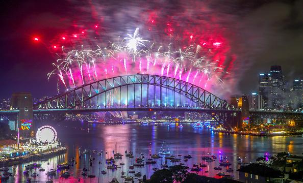 シドニー「Sydney Celebrates New Year's Eve 2017」:写真・画像(9)[壁紙.com]